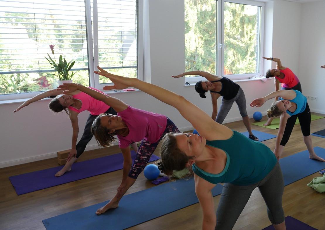 Yogakurs in der YEP Lounge in Bremen Horn