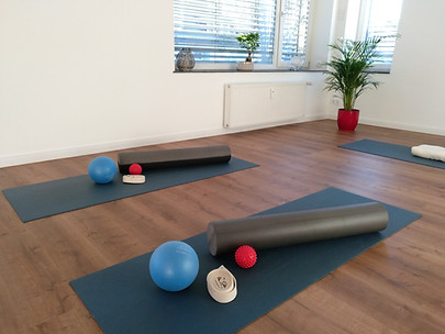 Yoga und Pilatestraining