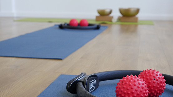 Pilates und Klangschalentherapie