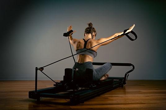 Pilates Training mit dem Allegro Reformer in der YEP Lounge in Bremen Horn