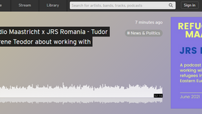 Have you listened to our podcast: Refugees Radio Maastricht x JRS Romania - working with refugees