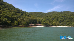 Ilha de Jaguanum - Praia do Arassá - Itacuruçá