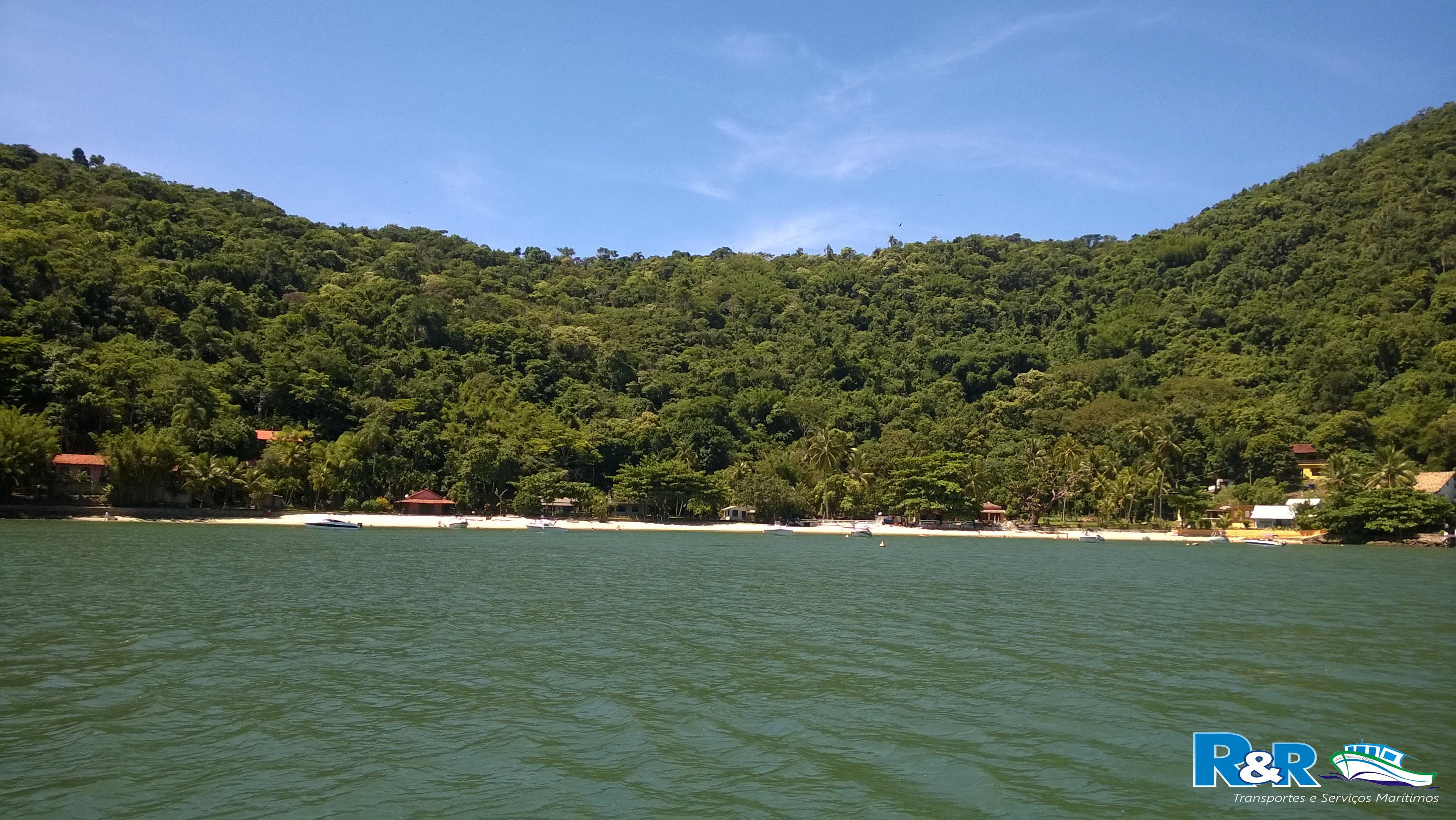 Ilha de Jaguanum - Praia da Estopa - Itacuruçá