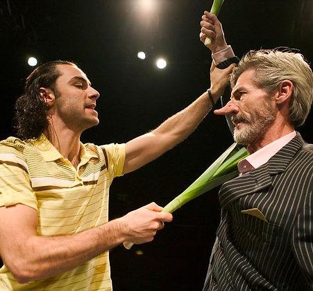 Aidan Turner Cyrano Theatre Stage