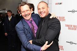 Gary Oldman and Tom Hardy