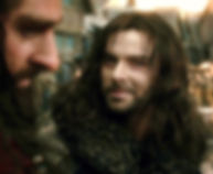 Aidan Turner as Kili in The Hobbit