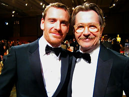 Michael Fassbender and Gary Oldman