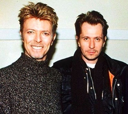 Gary Oldman and David Bowie