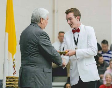 CBC High School Honors Senior Jack Harris Reddan with Joshua M. Seidel STEM Award
