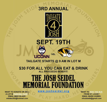 3rd Annual Tailgate 4 Josh // Save the Date