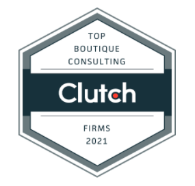 Levene Consulting is Clutch's Business Strategy Consulting Firm Awardee for 2021
