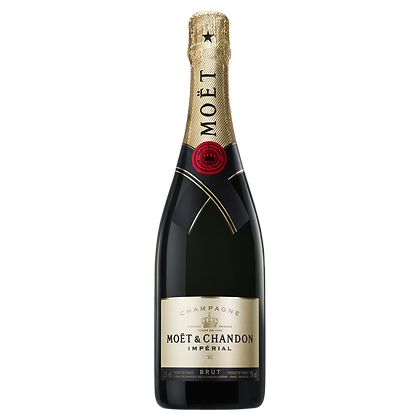 MOET AND CHANDON IMPERIAL CHAMPAGNE 750mL