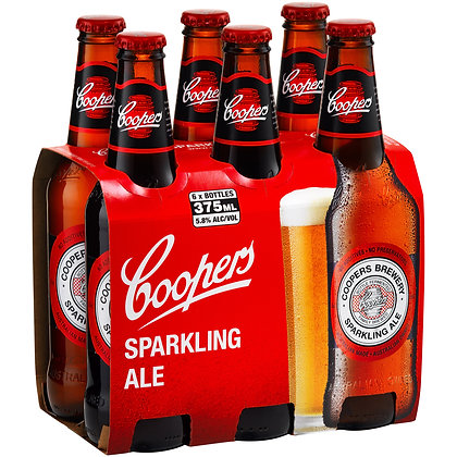COOPERS SPARKLING ALE STUBBIES 375mL