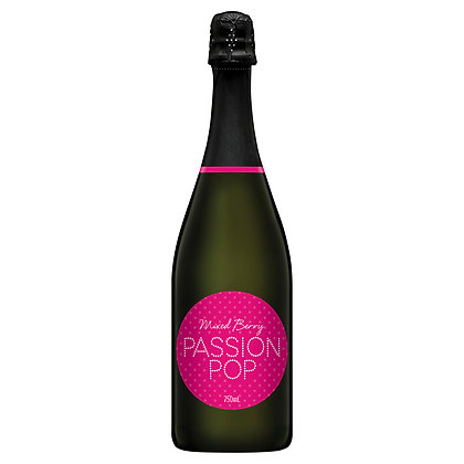 PASSION POP MIXED BERRY SPARKLING 750mL