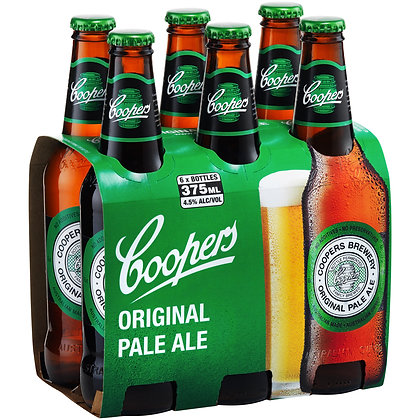 COOPERS PALE ALE STUBBIES 375mL
