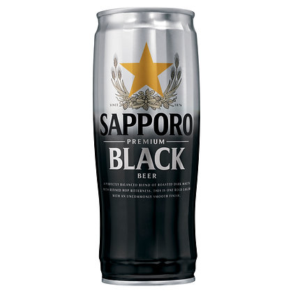 SAPPORO BLACK LAGER CAN 650mL