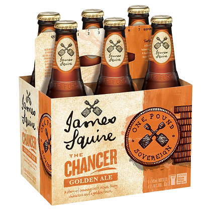 JAMES SQUIRE THE CHANCER GOLDEN ALE 6x345mL
