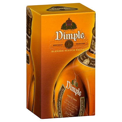 DIMPLE 12 YEAR BLENDED SCOTCH WHISKY 700mL