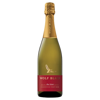 WOLF BLASS RED LABEL PINOT NOIR CHARDONNAY 750mL