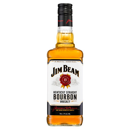 JIM BEAM BOURBON WHISKY 700mL