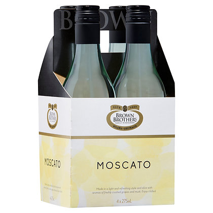 BROWN BROTHERS MOSCATO PICCOLO 4x275mL