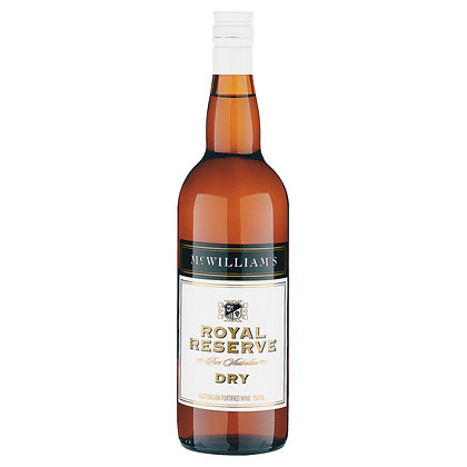 MCWILLIAM'S DRY FORTIFIED 750mL