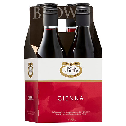 BROWN BROTHERS CIENNA PICCOLO 4x275mL