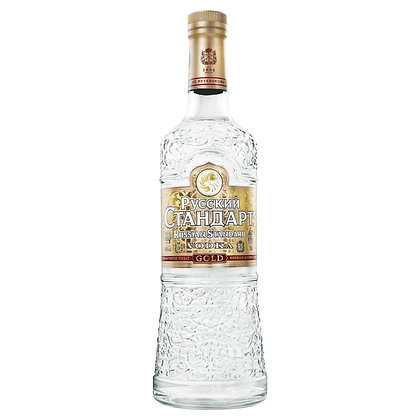 RUSSIAN STANDARD GOLD VODKA 700mL