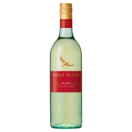 WOLF BLASS RED LABEL SAUVIGNON BLANC 750mL