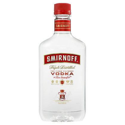 SMIRNOFF RED LABEL VODKA 375mL
