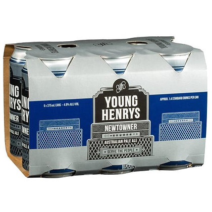 YOUNG HENRYS NEWTOWER PALE ALE 6x375mL