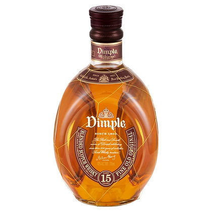 DIMPLE 15 YEAR BLENDED SCOTCH WHISKY 700mL