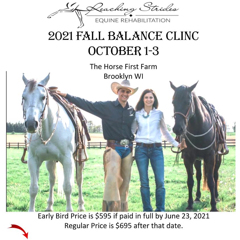 Fall Balanced Horse and Rider Clinic