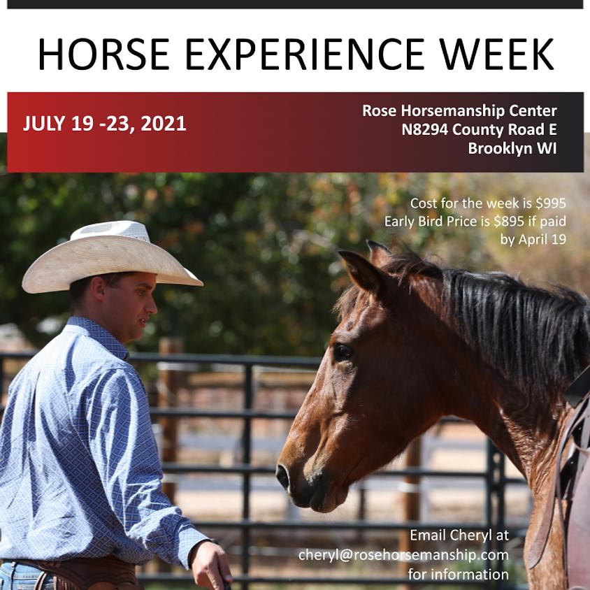 Horsemanship Experience Week