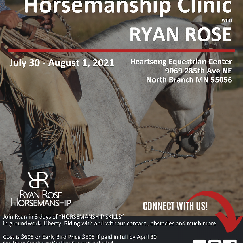 Minnesota 3 Day Horsemanship Clinic