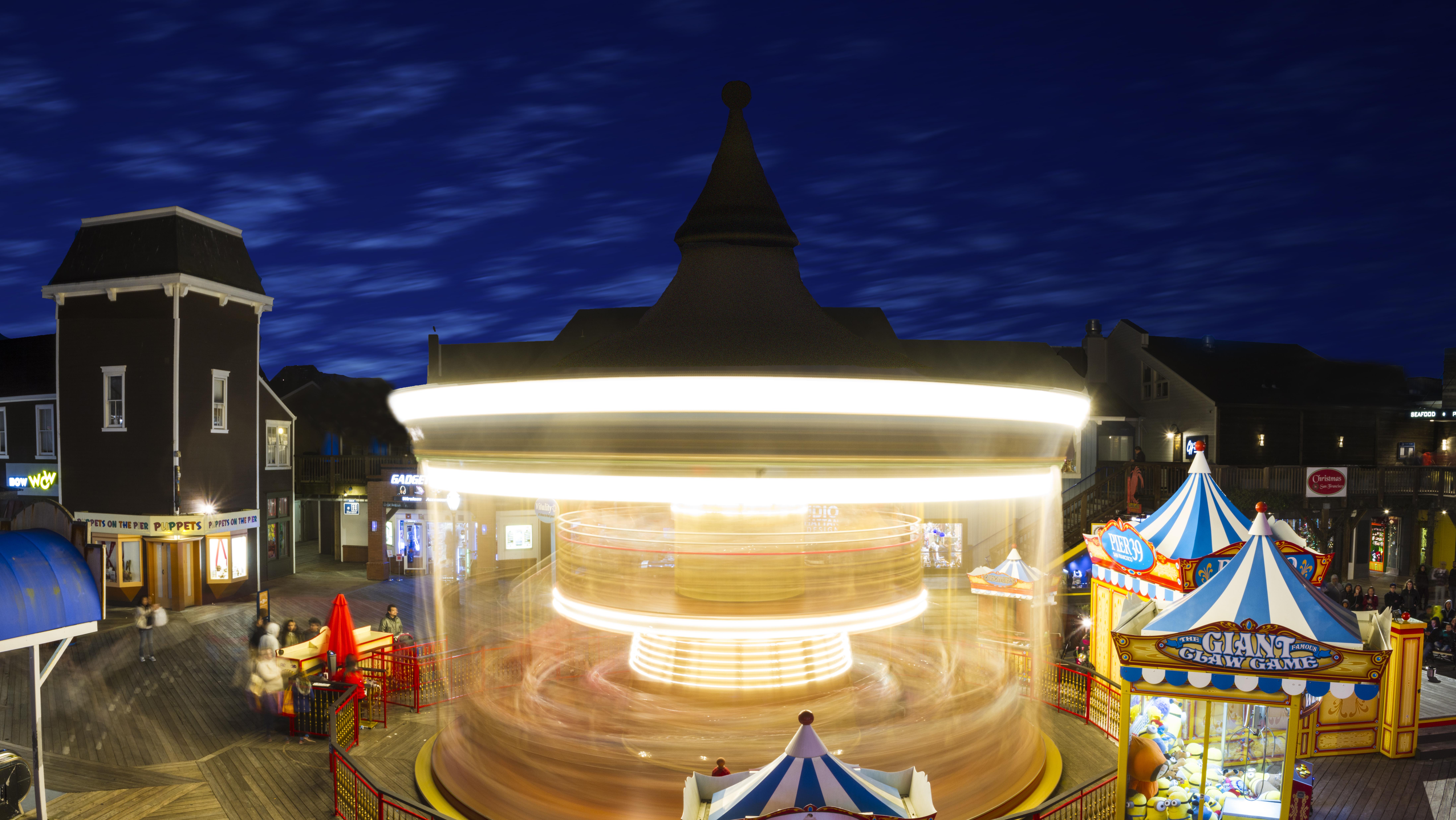 Pier 30 Carousel