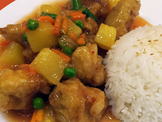 New! Hawaiian Chicken with Rice