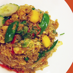 Chicken Mango Fried Rice