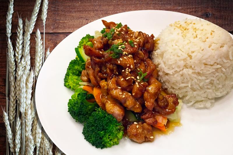 Teriyaki - Basil Rice | Thai food Brookline
