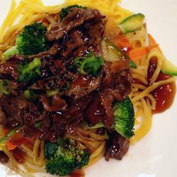 Beef Teriyaki Noodle