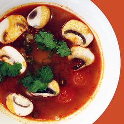 Shrimp Spicy Soup