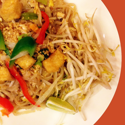 Tofu Basil Pad Thai