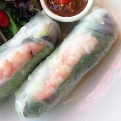 Shrimp Fresh Rolls