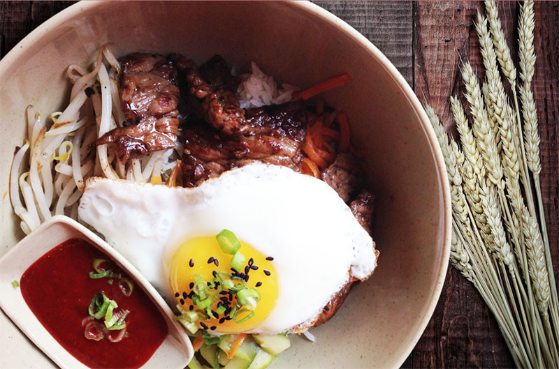 Korean Beef - Basil Rice | Thai food Brookline