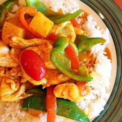 Sweet Curry Chicken