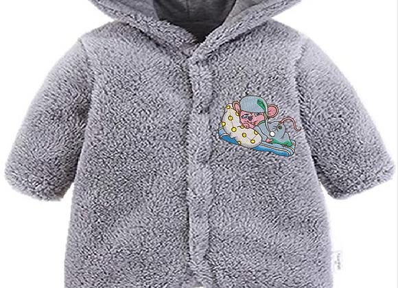 Machine Embroidered Newborn Unisex Winter jumper