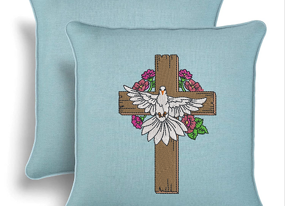 The Cross with Life Machine Embroidery design