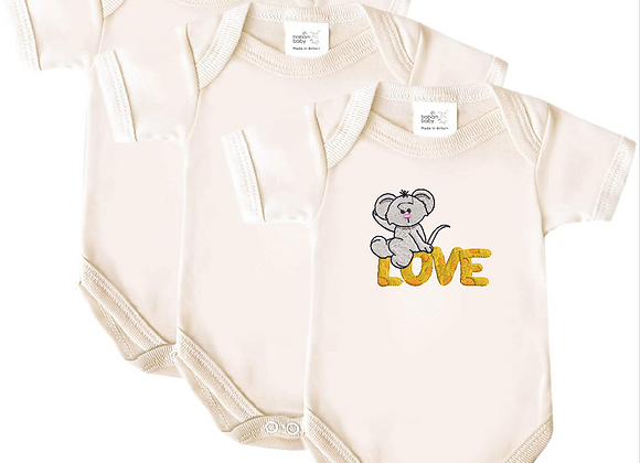 Embroidered Baby's Vest