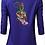 Thumbnail: Women blouse Machine Embroidered Bright-full design