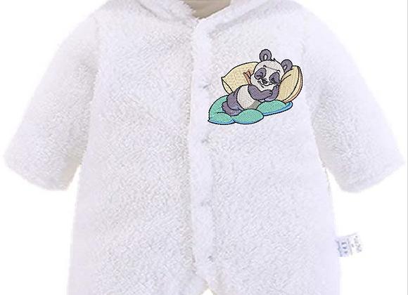 Machine Embroidered Newborn Unisex baby winter jumper